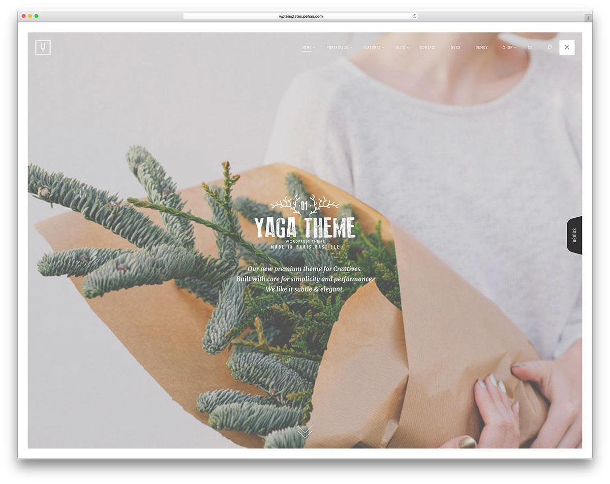 yaga-minimal-fullscreen-portfolio-theme