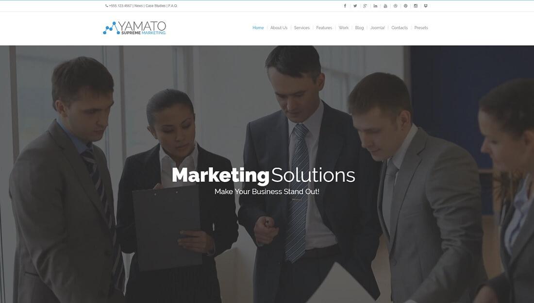 yamato joomla business template