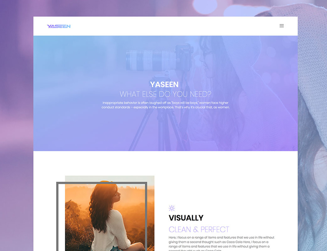 yaseen-free-bootstrap-gallery-templates