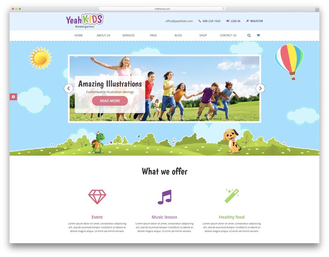 27 Best Students-Friendly School Website Templates 2019 - Colorlib