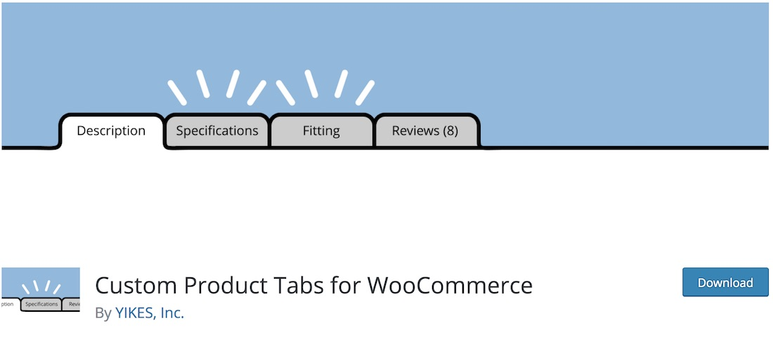 yikes custom woocommerce product tabs