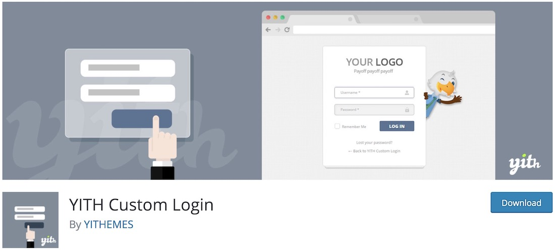 yith custom login customize login page plugin