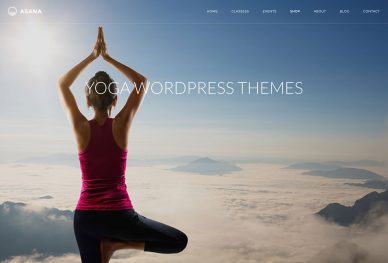 Yoga WordPress Themes