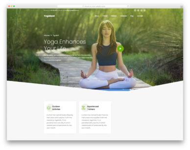 Yogabest Colorlib Template