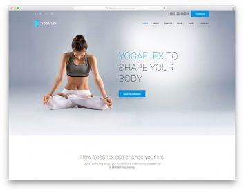Yogaflex Free Template
