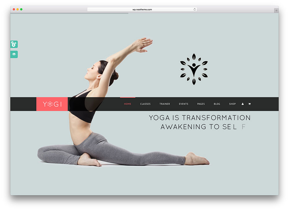 yogi - yoga studio theme