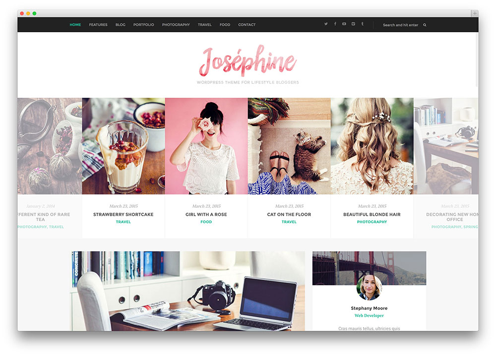 blogging is a rewarding yet highly competitive field josephine is a