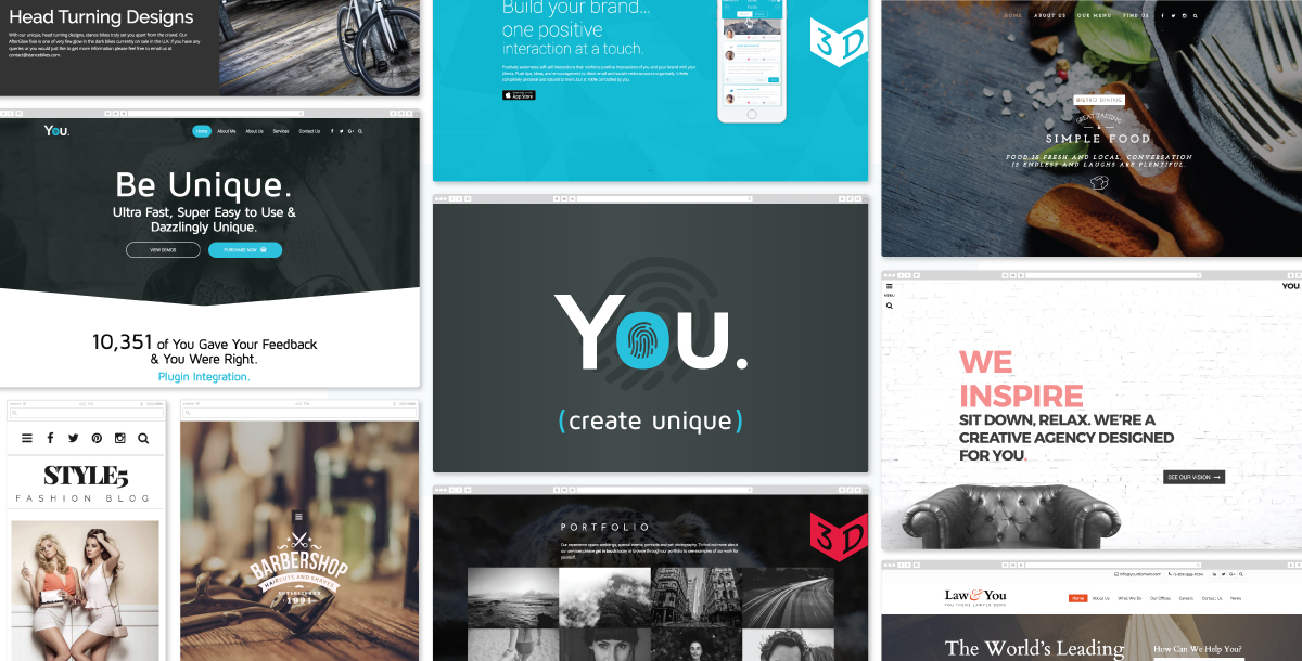 You Theme Review: A New Multi-purpose WordPress Theme For 2016