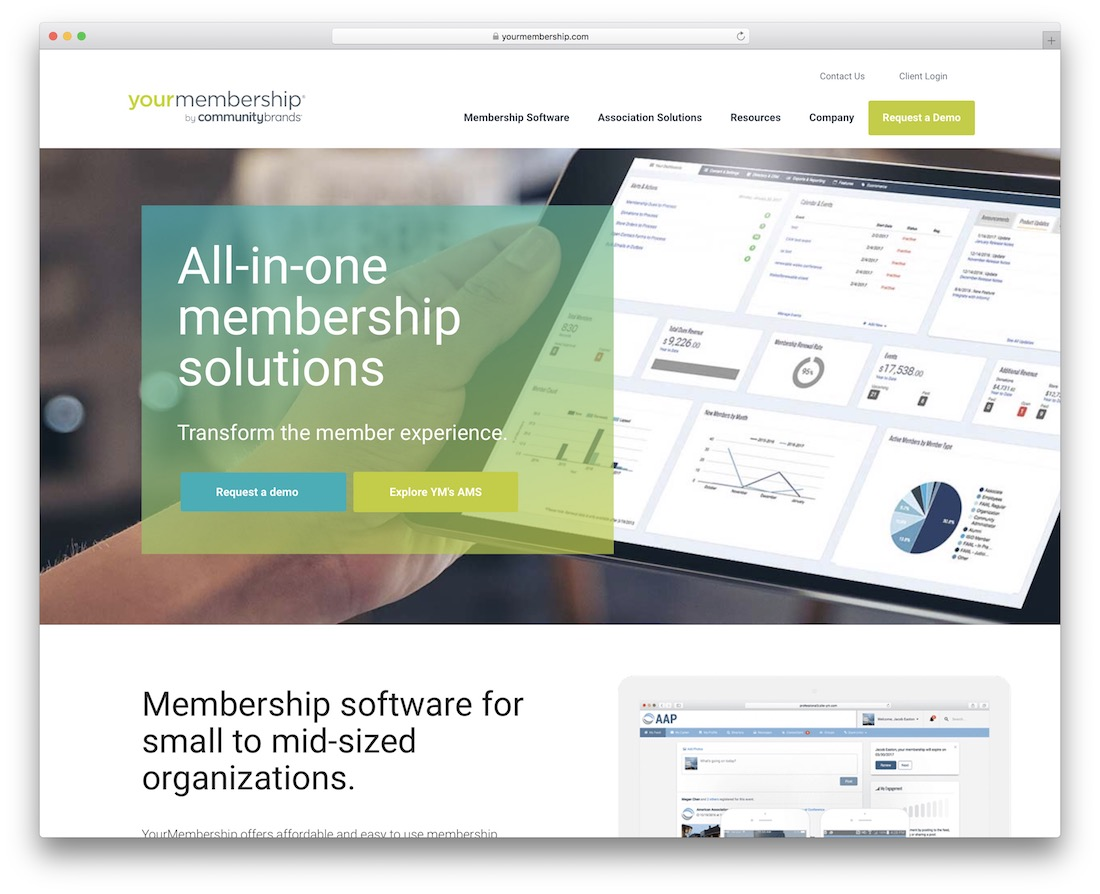 yourmembership creating a membership site