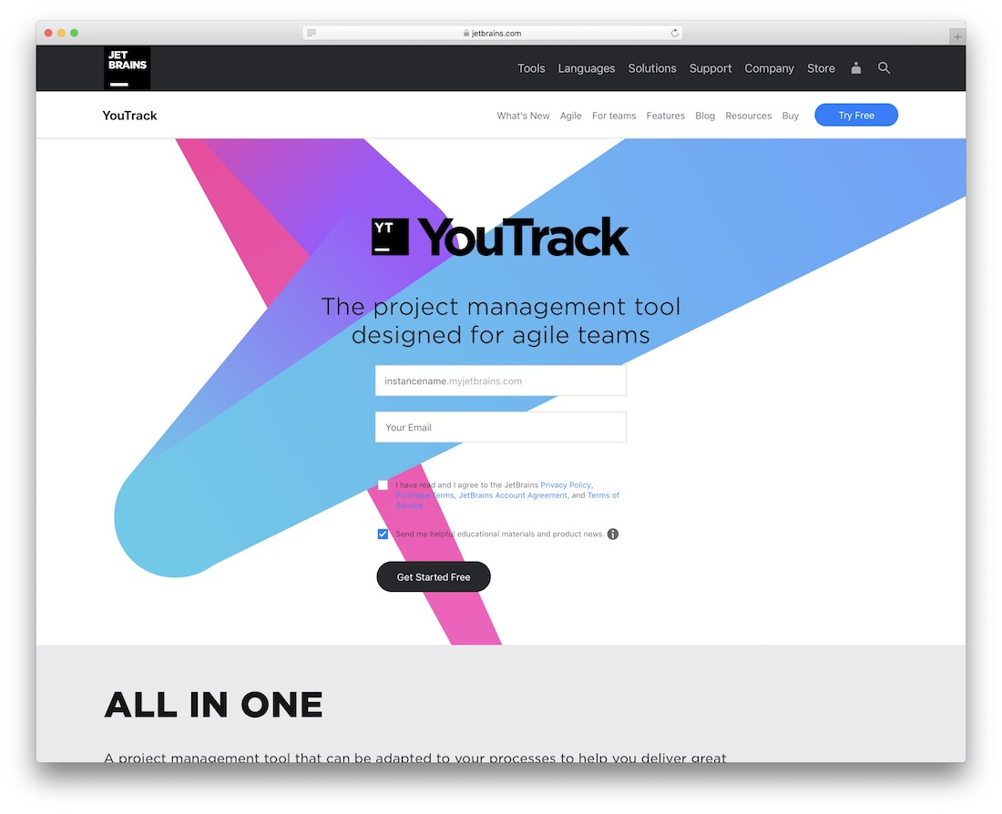 youtrack bug tracking