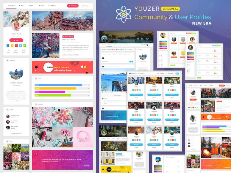 Youzer WordPress Plugin Review – BuddyPress Community And User Profiles Plugin
