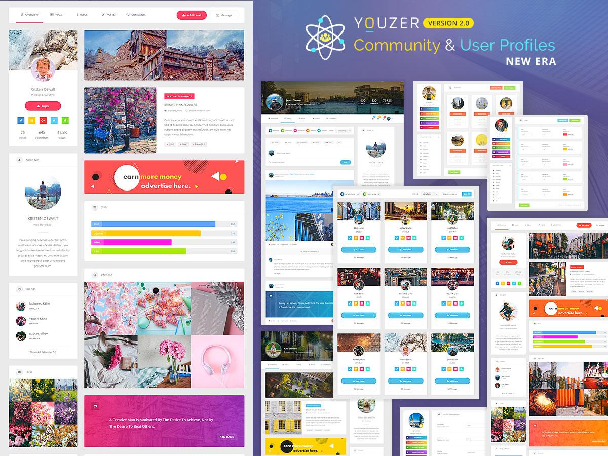 Youzer WordPress Plugin Review – BuddyPress Community And User Profiles Plugin