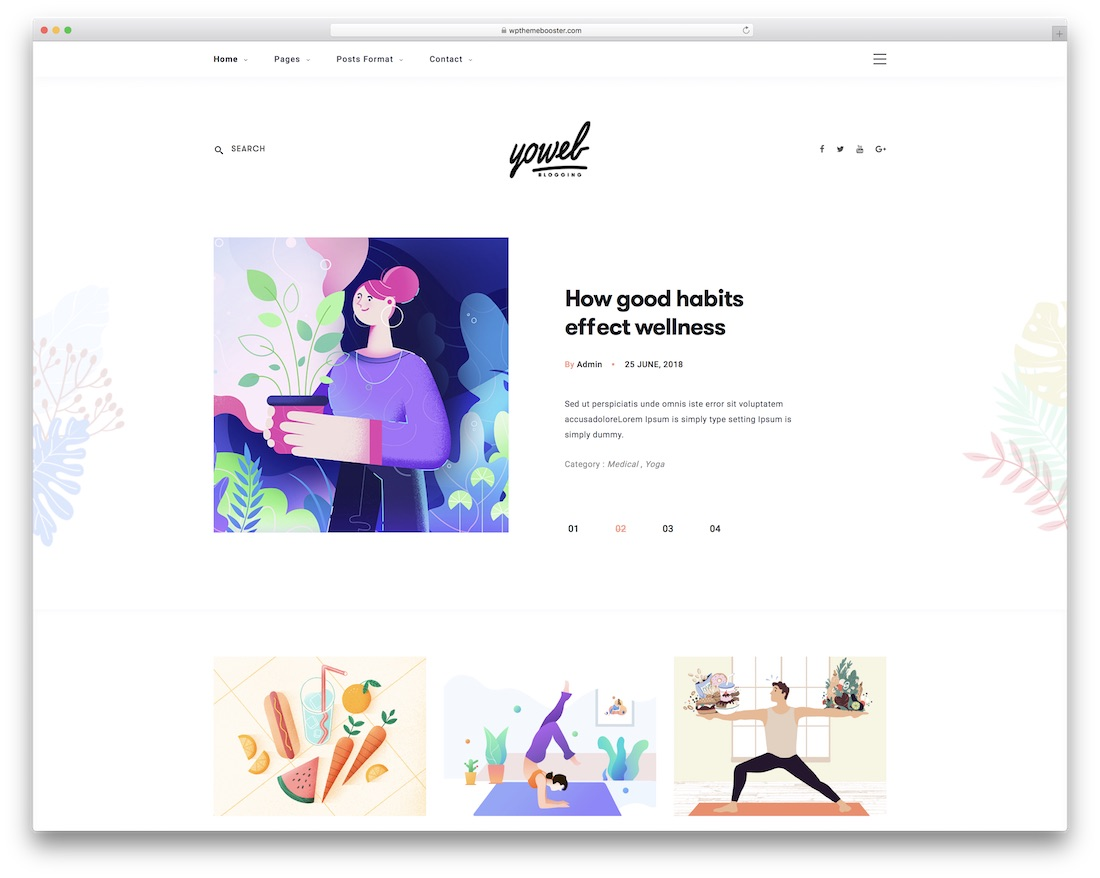26 Best Yoga WordPress Themes For Yoga Studios 2019 - Colorlib