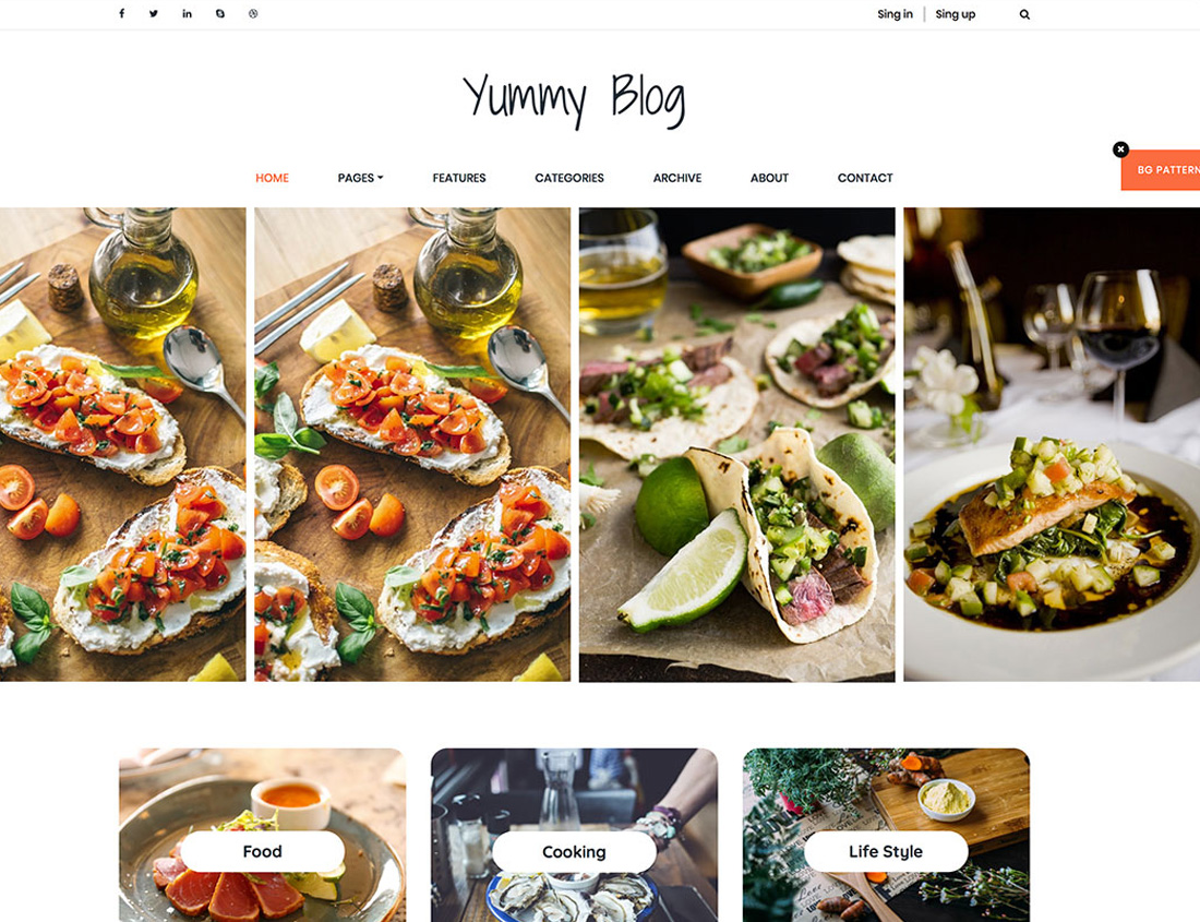 yummy-blog-free-bootstrap-gallery-templates