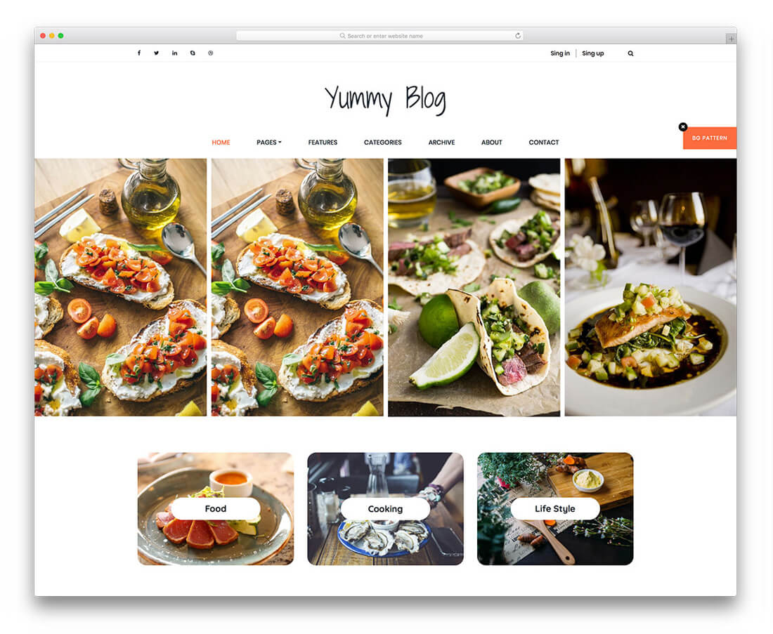 27 best free responsive website templates for flexibility 2018