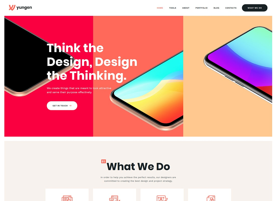 Yungen | Modern Digital Agency Business WordPress Theme