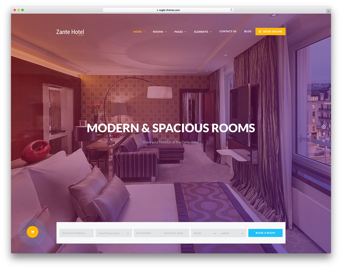 617a5e8111ce0 Zante Hotel is an awesome Hotel   Resort HTML Template! It is made to aid  your page and business to reach a higher level on the hospitality industry  scale.