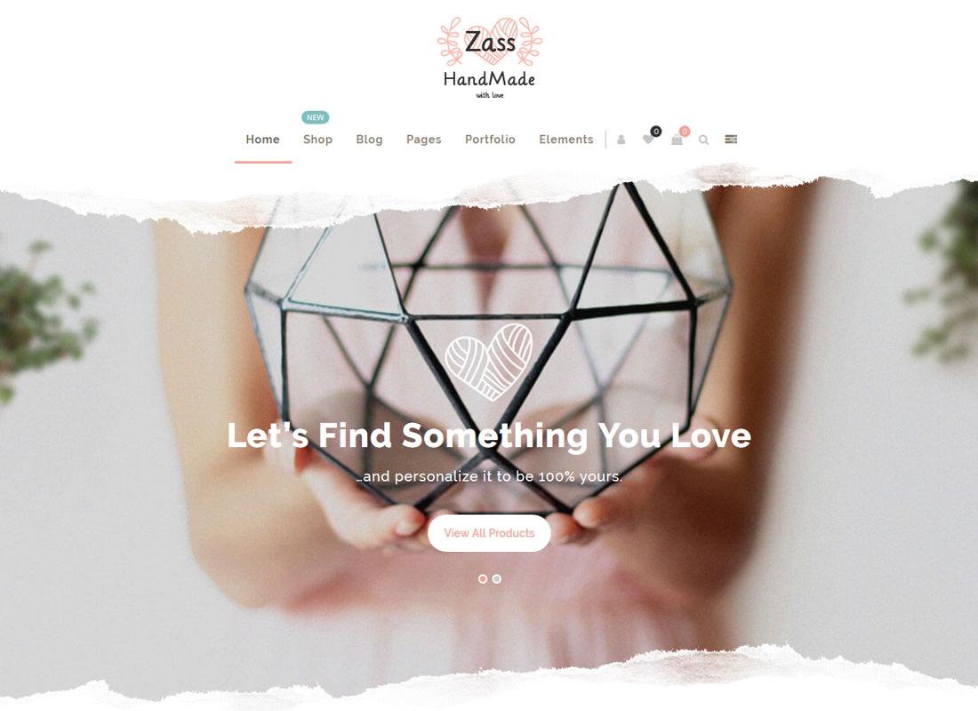 Zass | WooCommerce Theme for Handmade Artists and Artisans