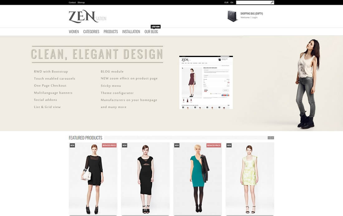 zensation prestashop theme