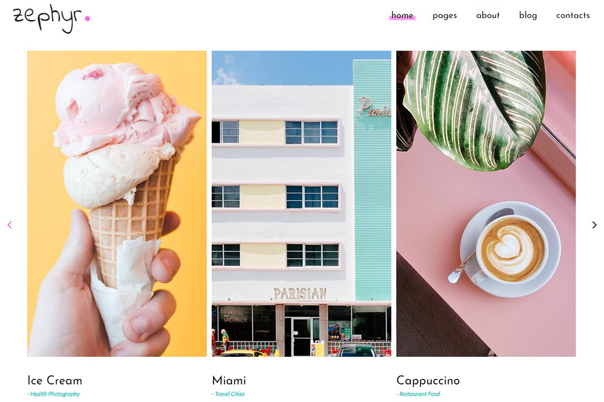 50 Best Photo Gallery Website Templates 2019