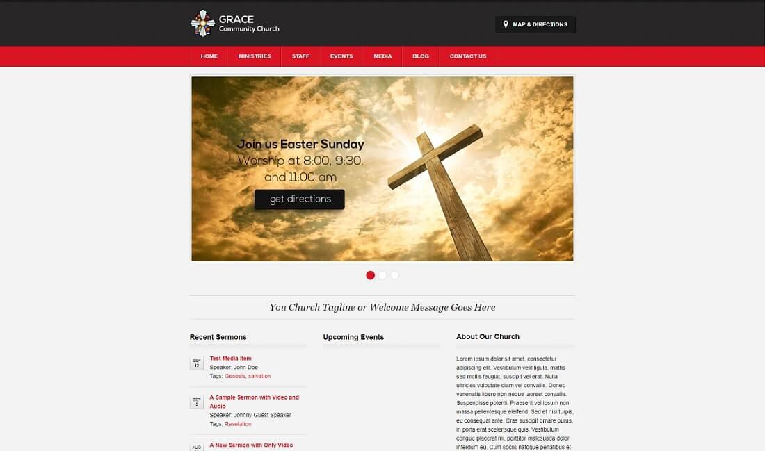 free church template - Etame.mibawa.co