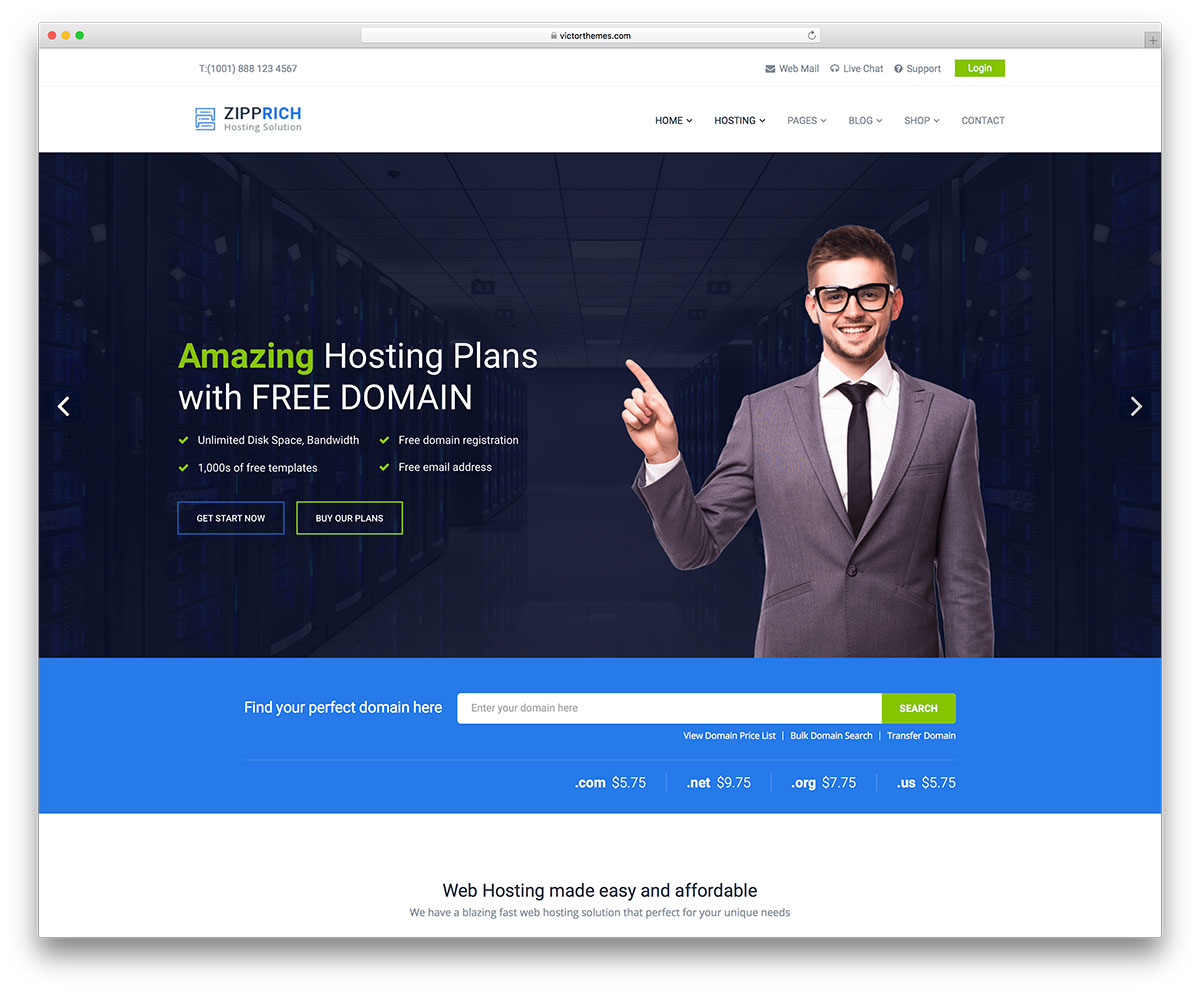 31 Best Hosting WordPress Themes With WHMCS Integration 2019