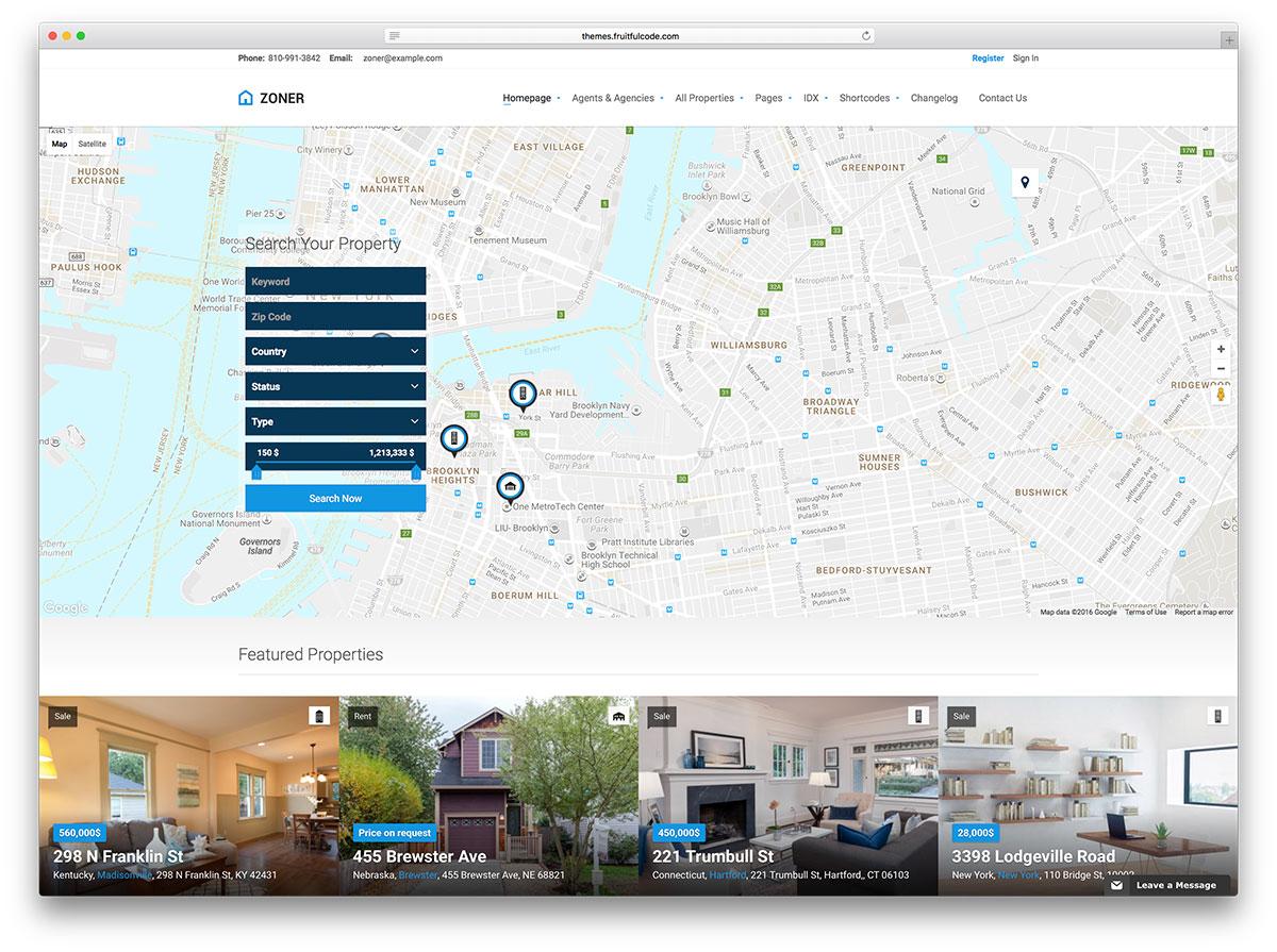 zoner-large-map-wordpress-real-estate-theme