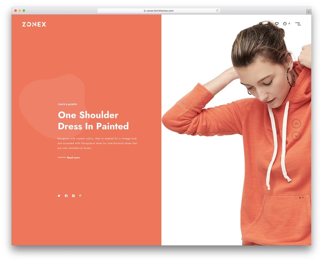 zonex fashion wordpress theme