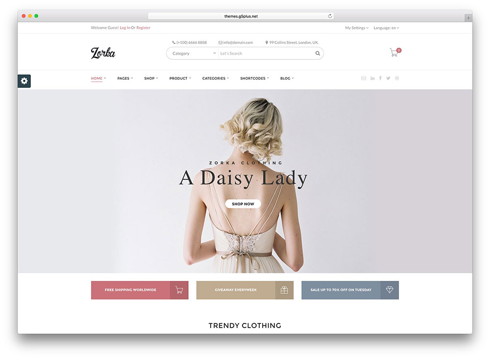 zorka-minimal-woocommerce-wordpress-theme