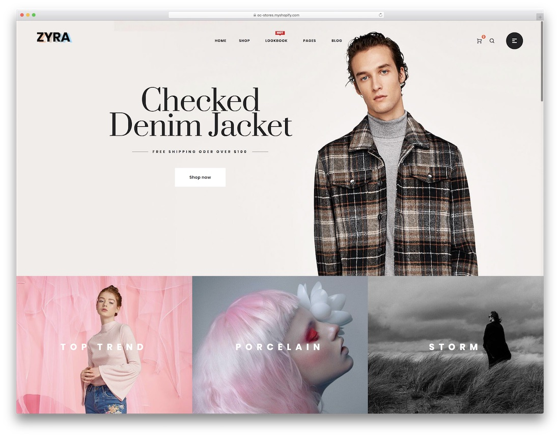 zyra fashion shopify theme