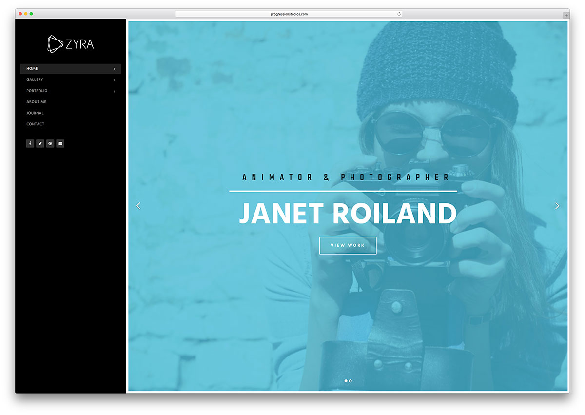 Top 5 Gallery HTML5 Website Templates To Showcase Your Stunning ...